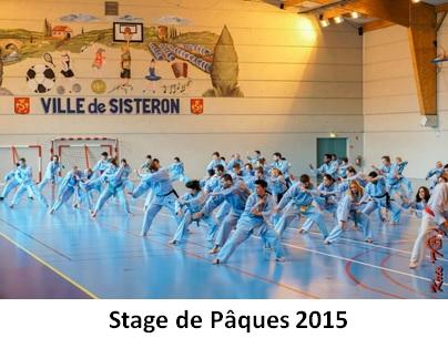 Galerie Photos - Stage de Pâques 2015