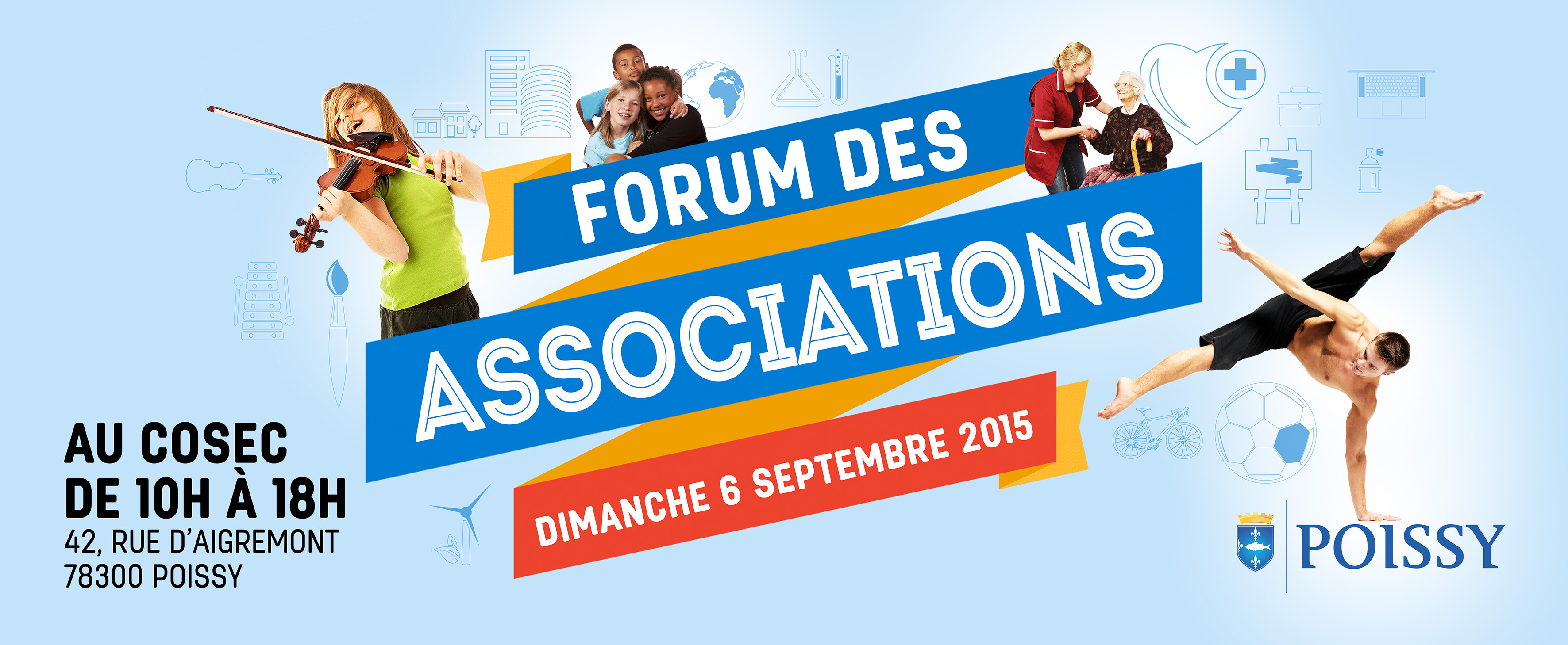 6 septembre 2015 : Forum des associations